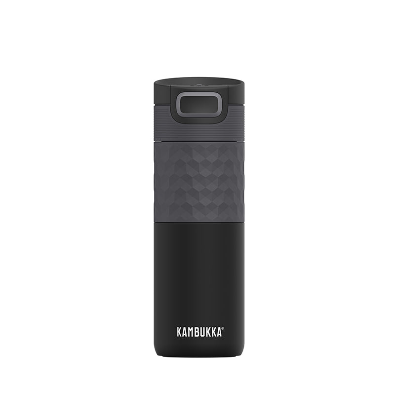 Kambukka-Etna Grip 500ml-Vacuum Bottle-Black Steel-Gearaholic.com.sg