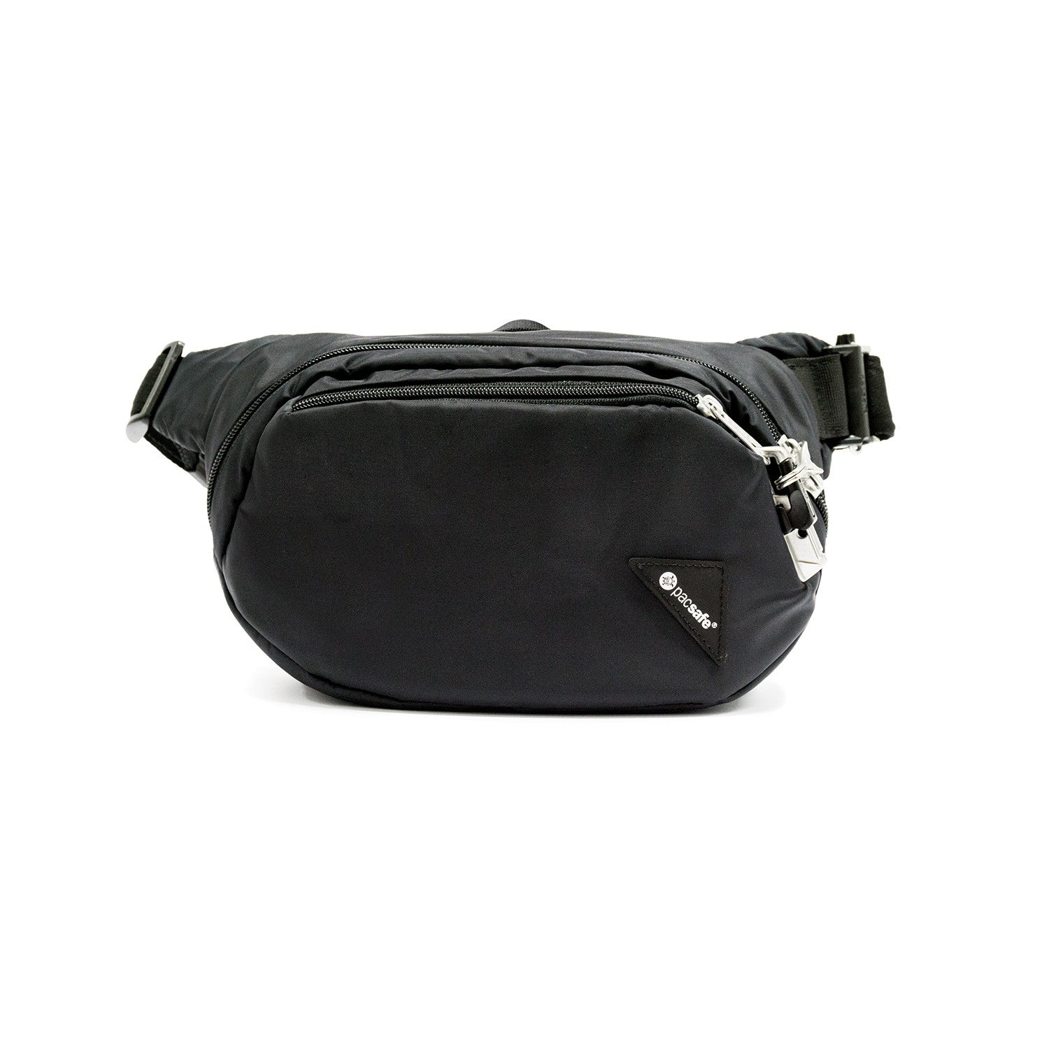 Pacsafe-Vibe 100 Anti-Theft Hip Pack-RFID Bag-Black-Gearaholic.com.sg