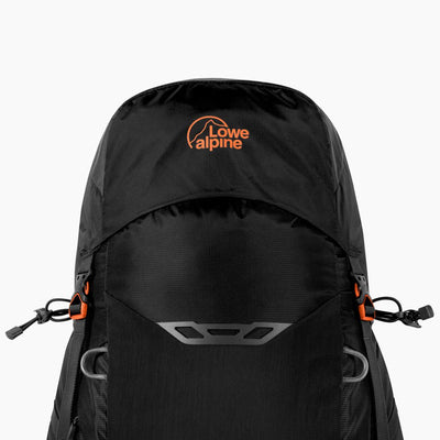 Lowe Alpine-AirZone Trek+ 35-45 Litres Backpack (Black)-Backpacking Pack-Black-Gearaholic.com.sg