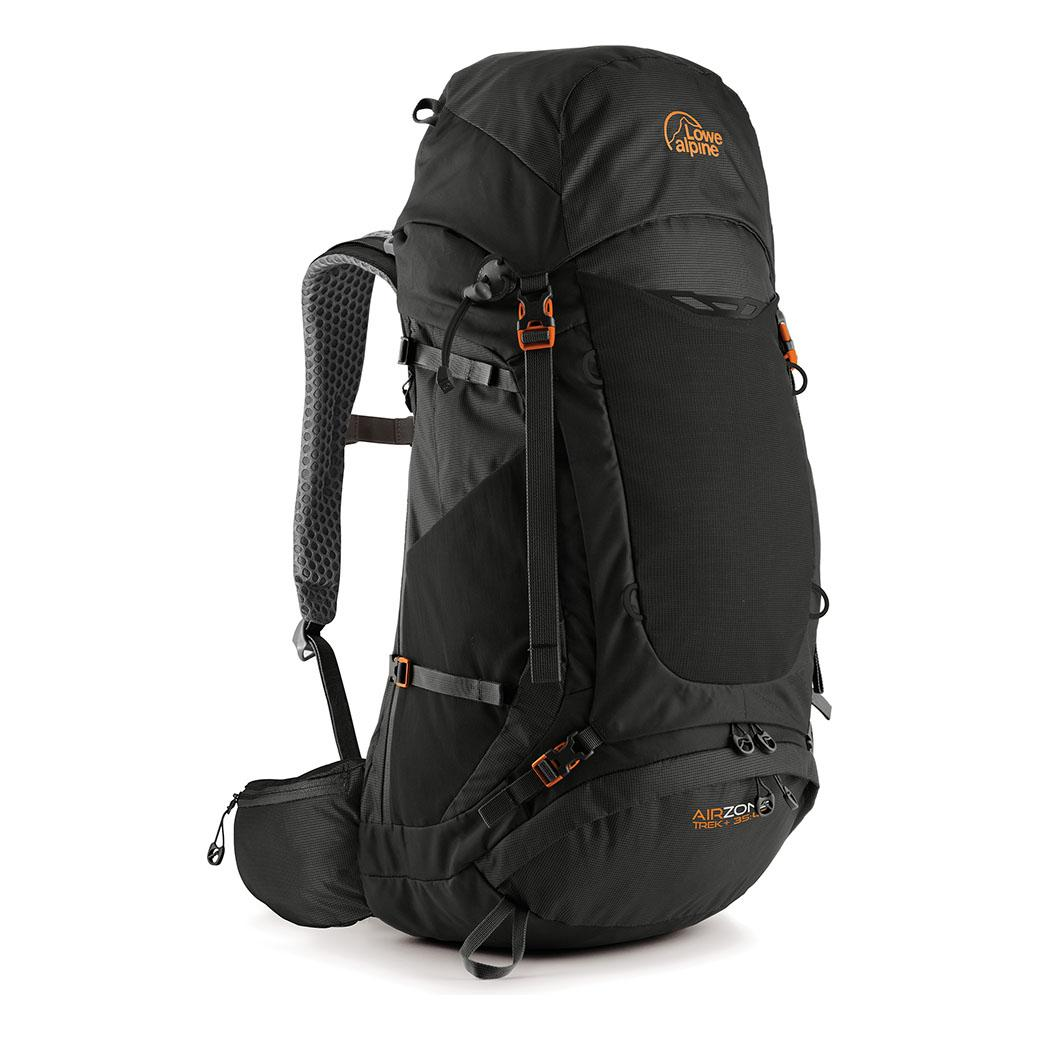 AirZone Trek+ 35-45 Litres Backpack (Black)