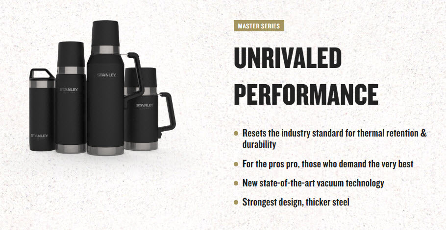 Stanley-Master Vacuum Bottle 1.4 QT / 1.3L - Toughest of the Tough-Vacuum Bottle-Gearaholic.com.sg