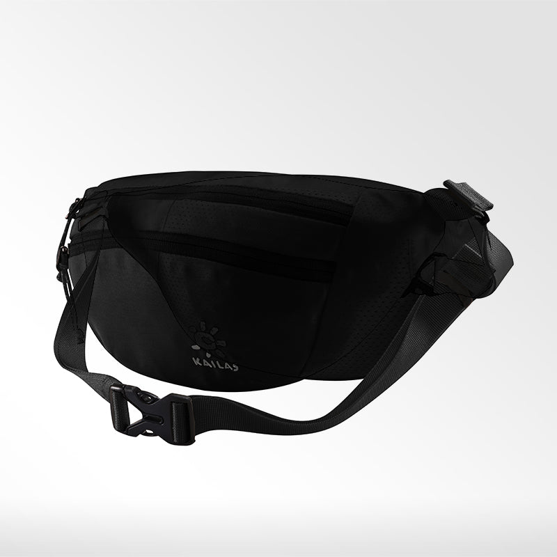 Kailas-Sardine Waist Bag-Travel Bag-Black-Gearaholic.com.sg