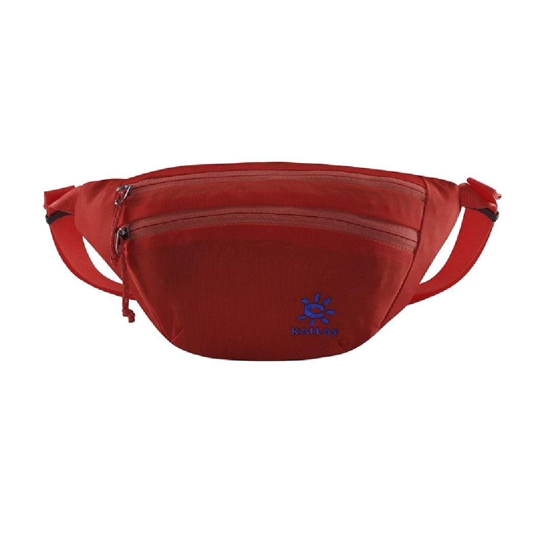 Kailas-Sardine Waist Bag-Travel Bag-Bright Red-Gearaholic.com.sg