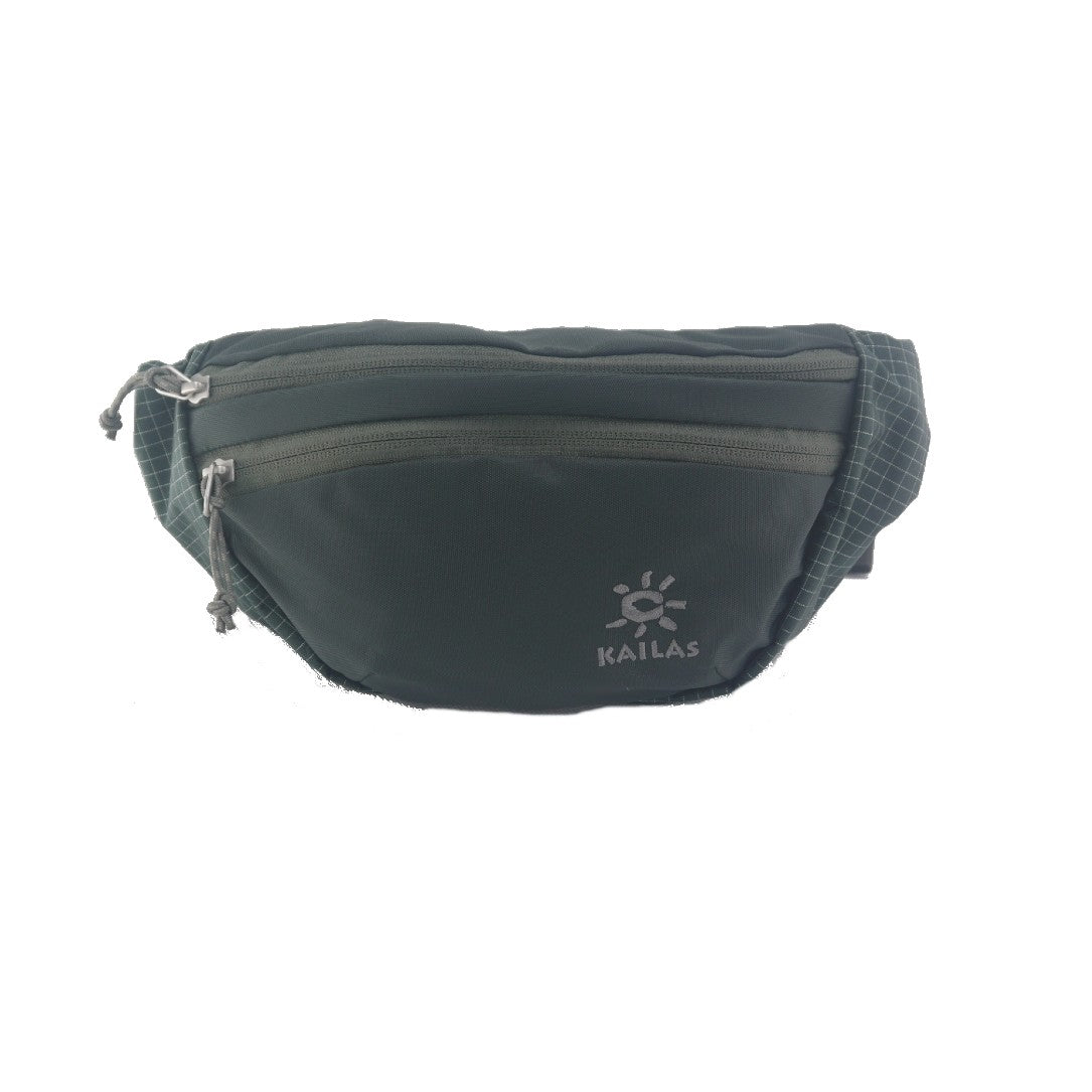 Kailas-Sardine Waist Bag-Travel Bag-Dark Gray Green-Gearaholic.com.sg