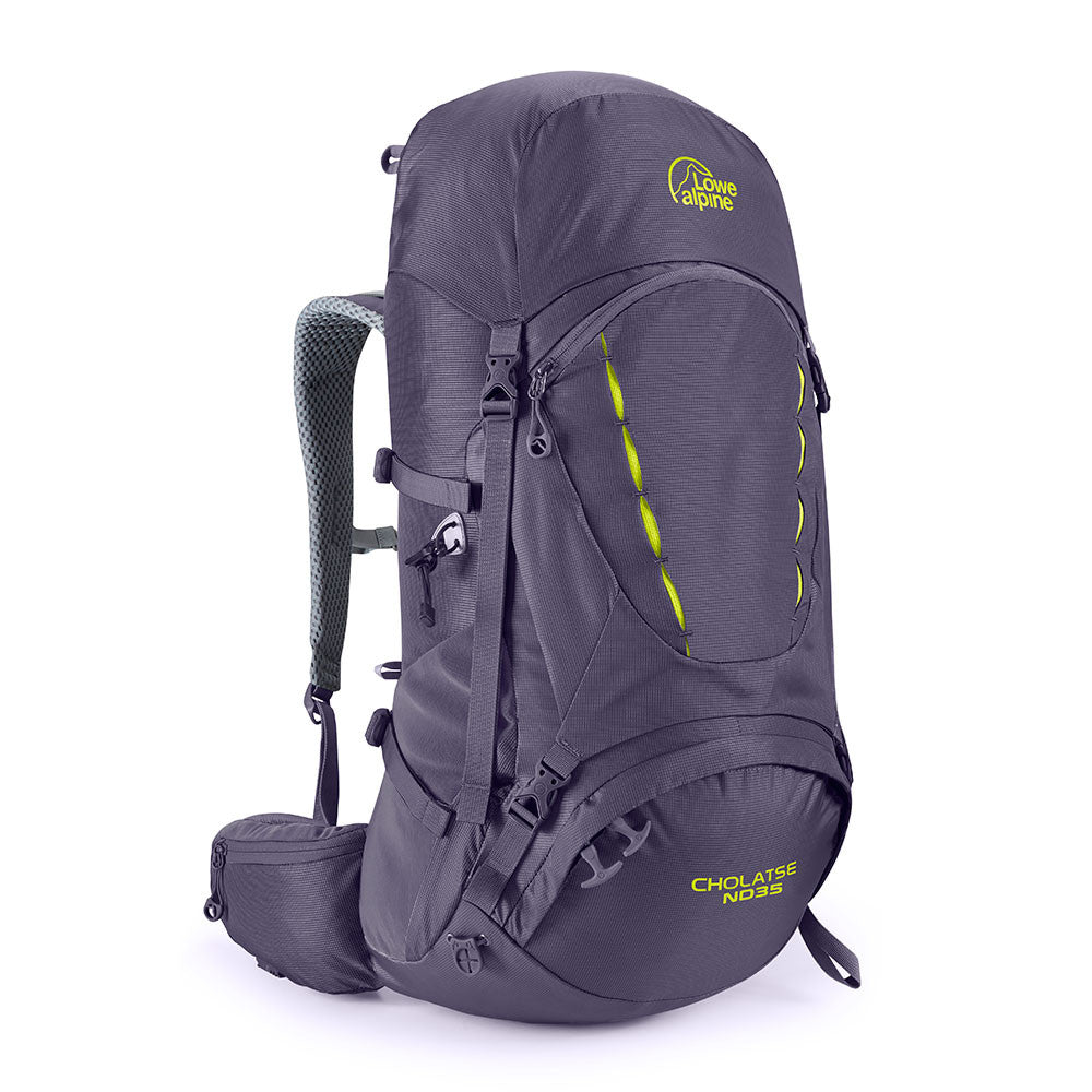 Lowe Alpine-Cholatse ND35 (Design for Women)-Backpacking Pack-Aubergine-Gearaholic.com.sg