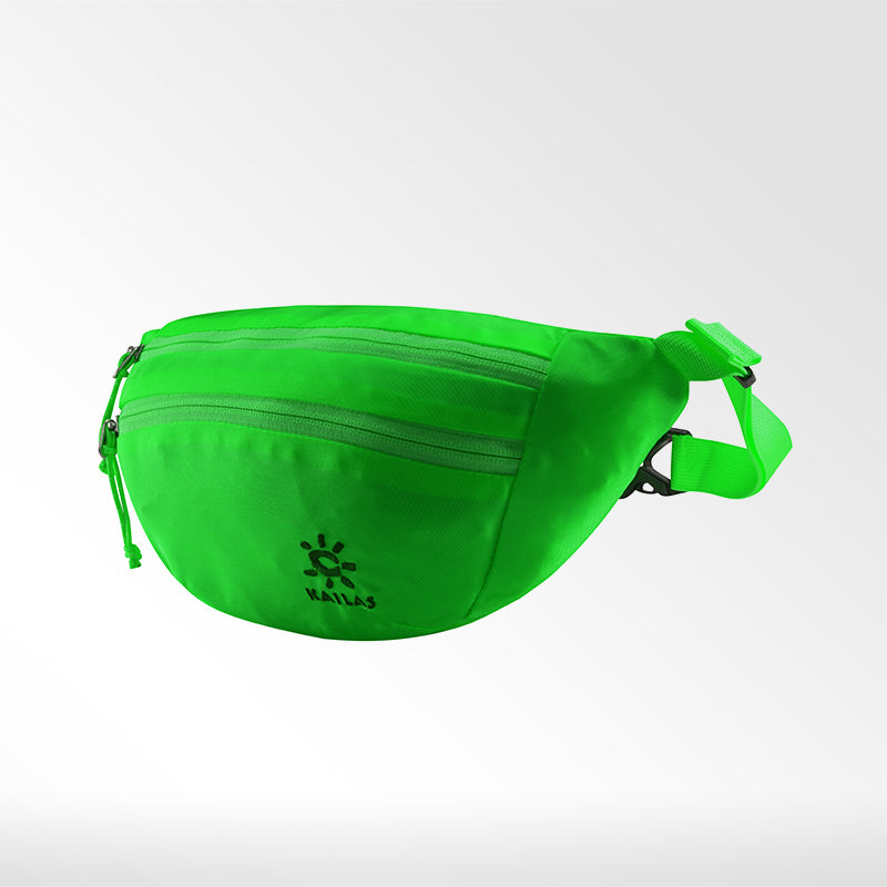 Kailas-Sardine Waist Bag-Travel Bag-Neon Green-Gearaholic.com.sg