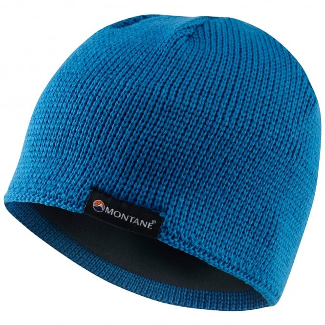 Montane-Resolute Beanie-Headwear-Electric Blue-Gearaholic.com.sg
