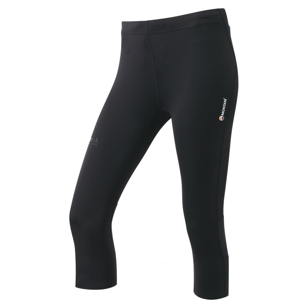 Montane-Women's Trail Series 3/4 Tight-Women's Legwear-Black-XS-Gearaholic.com.sg