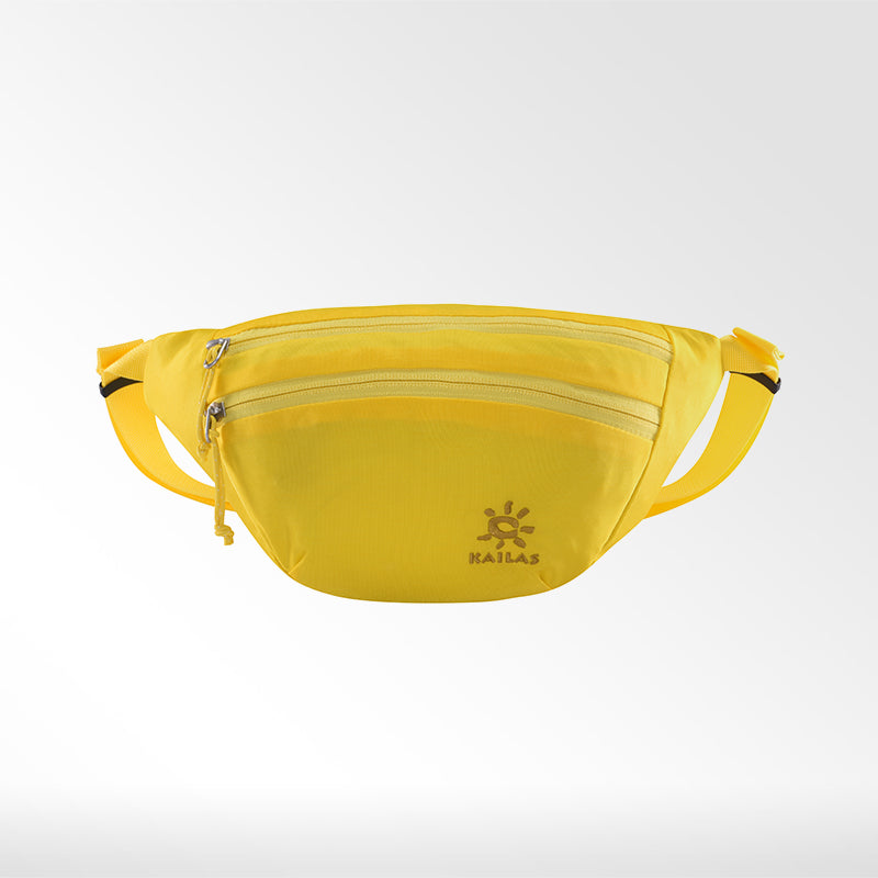 Kailas-Sardine Waist Bag-Travel Bag-Light Yellow-Gearaholic.com.sg