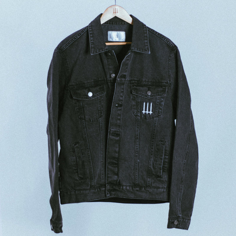 021 KHI Denim Jacket | Grey, Jacket - HeF Clothing