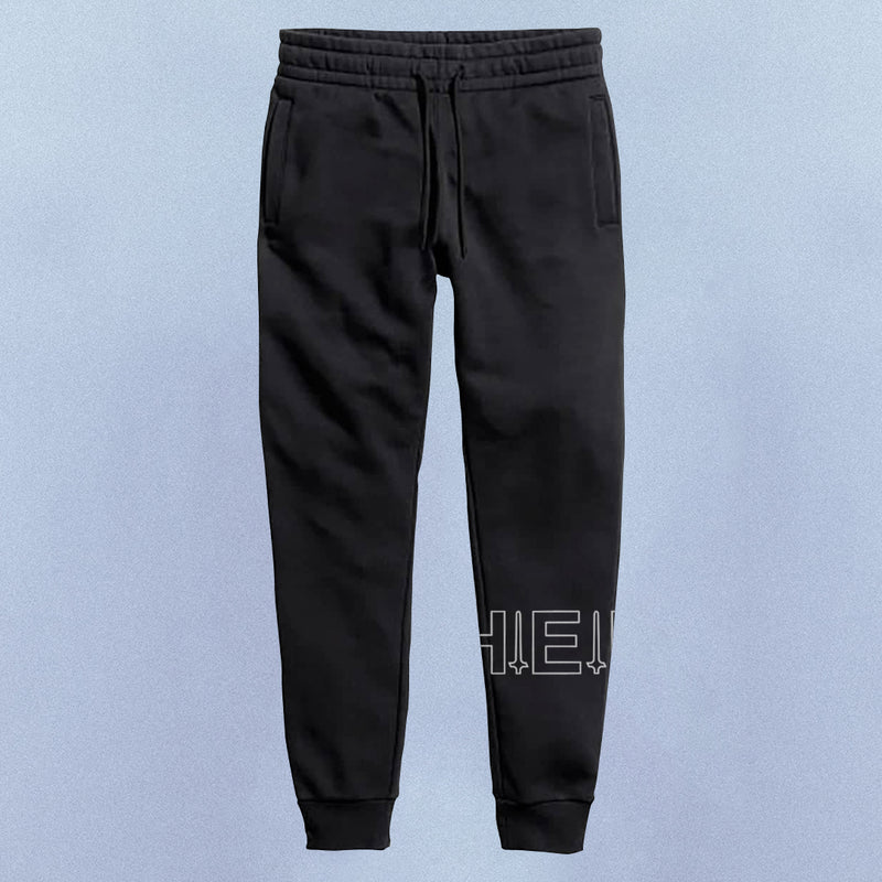 Logo Jogger Sweat Pant | Black, Pant - HeF Clothing