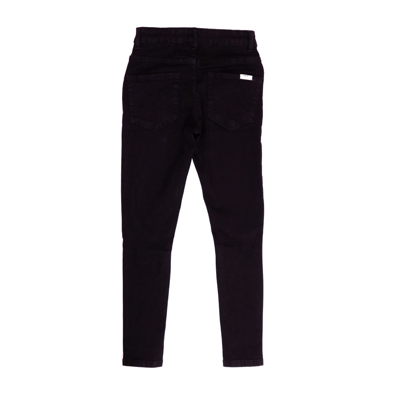 Straight Ripped Jean // Black, Pant - HeF Clothing