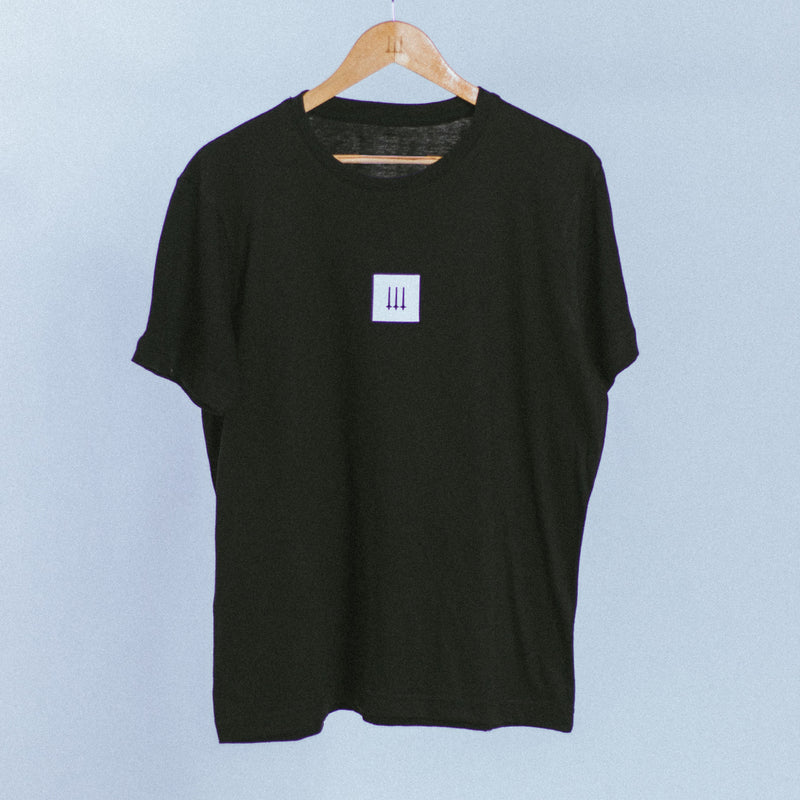 Box Logo Tee | Black, T-Shirt - HeF Clothing