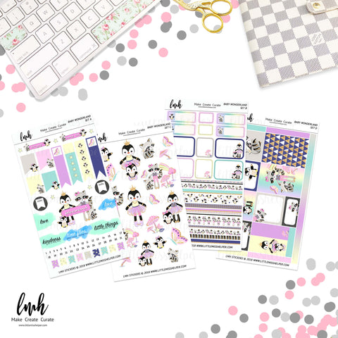 Baby Wonderland | Planner Sticker Set of 4