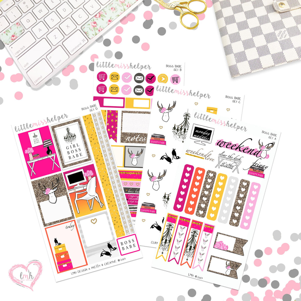 Boss Babe | Planner Sticker Set of 4