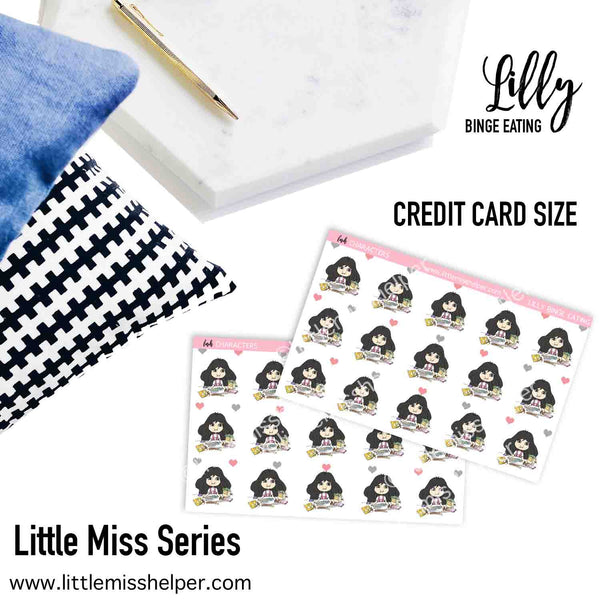 Little Miss Series: LILLY Binge Eating