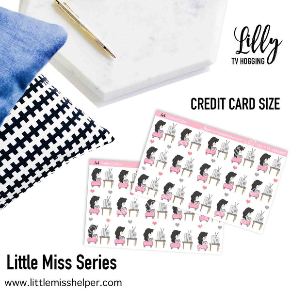 Little Miss Series: LILLY TV Hogging