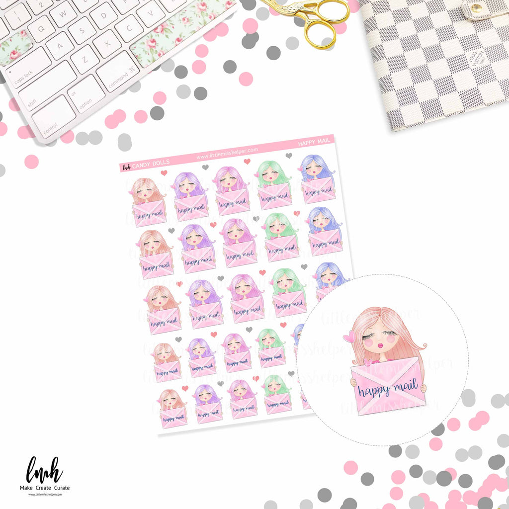 Candy Dolls Happy Mail