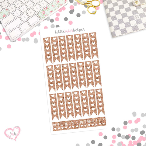 Checklist - Heart | Planner Sticker