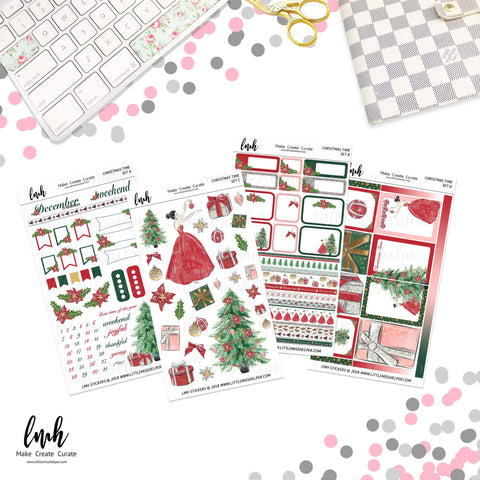Christmas Time | Planner Sticker Set of 4