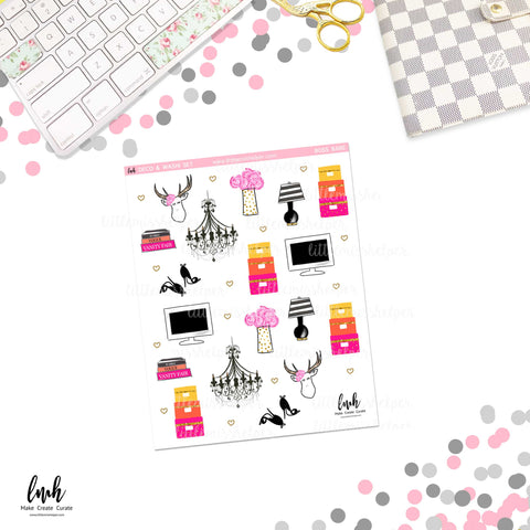 Boss Babe | Deco and Washi Set (DWS)