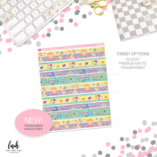 Dreams | Deco and Washi Set (DWS)
