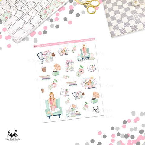 Me Time Lounge | Deco and Washi Set (DWS)