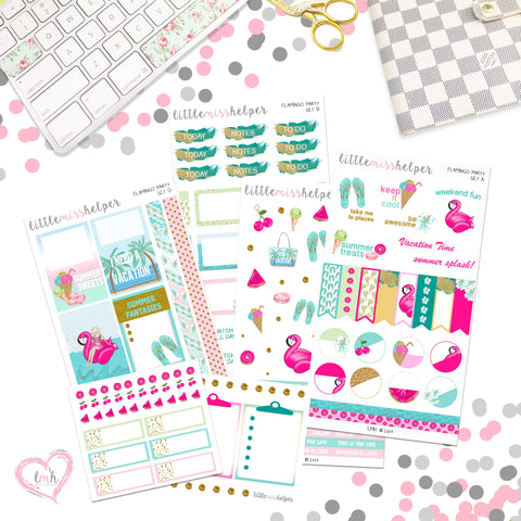 Charm and Sticker Kit 11 | Summer Lovin'