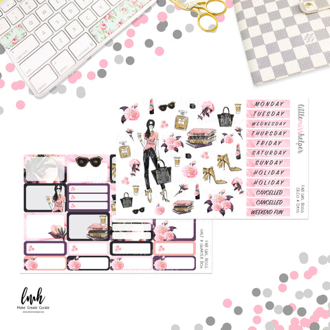 Fab Girl Boss | Planner Sticker Set of 6