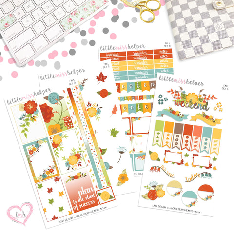 Fall | Planner Sticker Set of 4