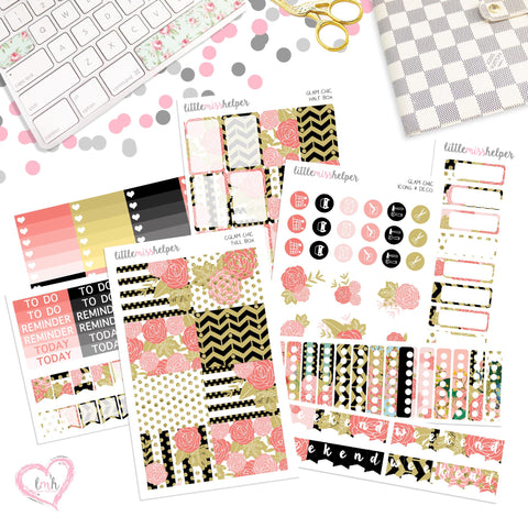 Glam Chic | Planner Sticker Set of 6