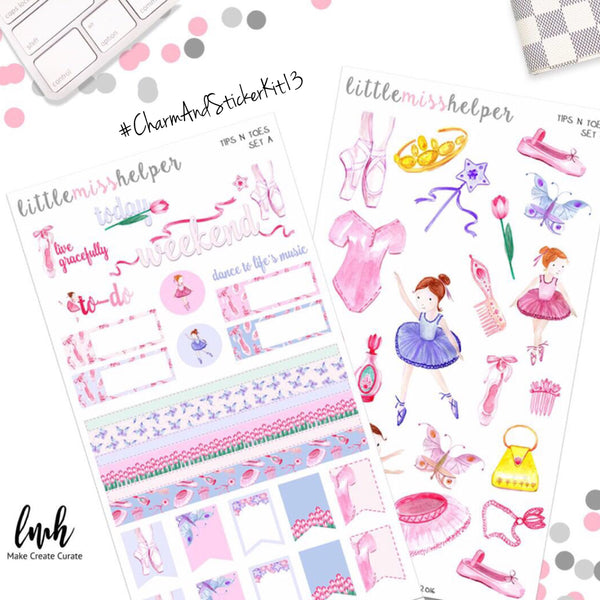 Charm and Sticker Kit 13 | Tips N Toes