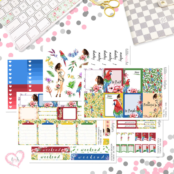 Charm and Sticker Kit 12 | Into the Tropics