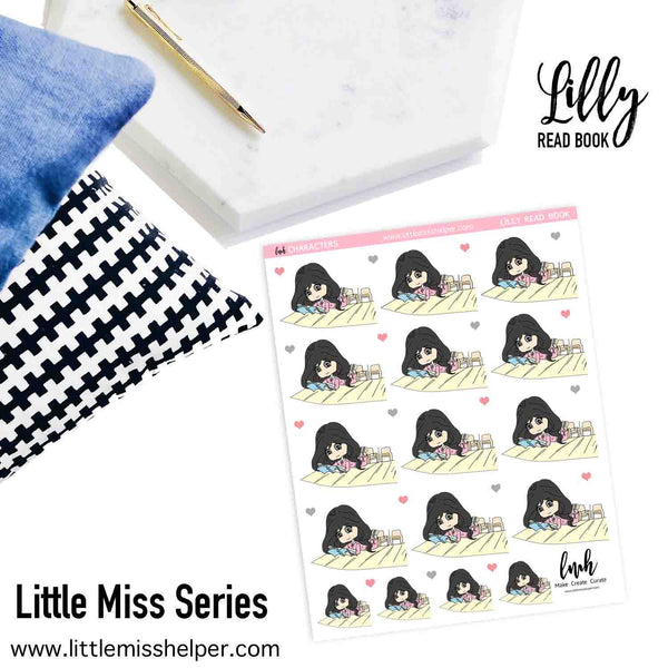 Little Miss Series: LILLY Read Book