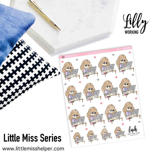 Little Miss Series: LILLY Working