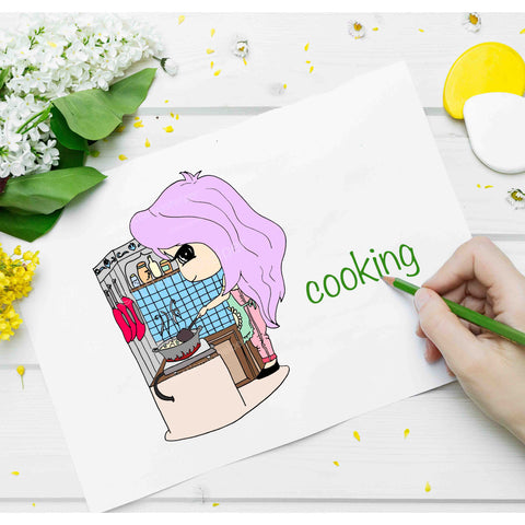 Little Miss Series: LILLY Cooking