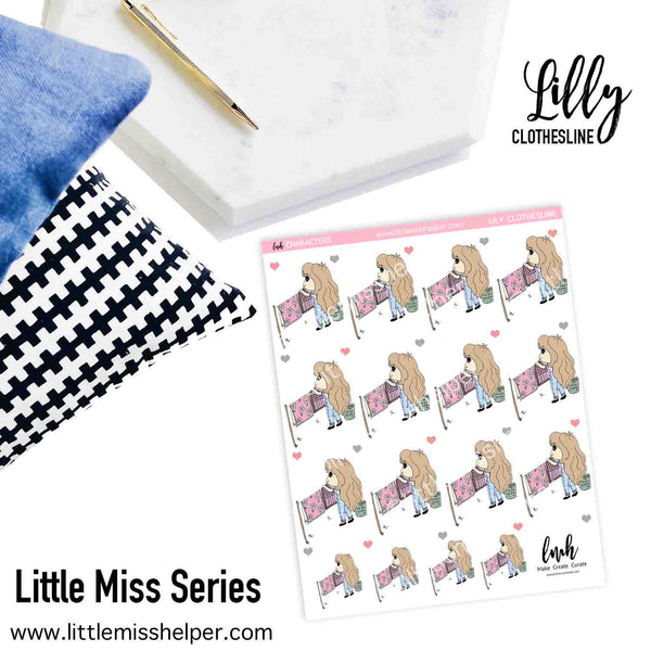Little Miss Series: LILLY Clothesline