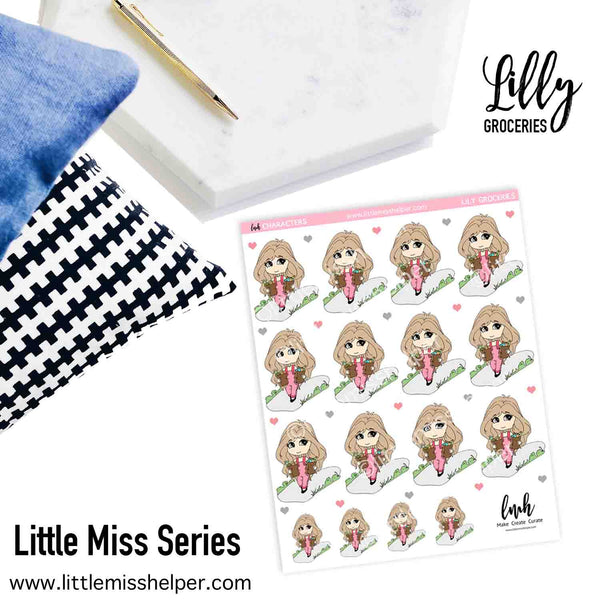 Little Miss Series: LILLY Groceries