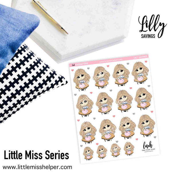 Little Miss Series: LILLY Savings
