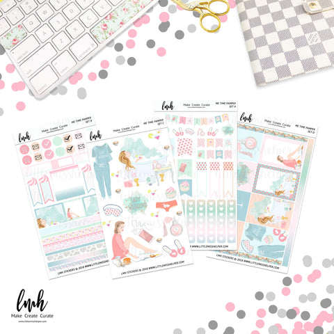 Me Time Pamper | Planner Sticker Set of 4