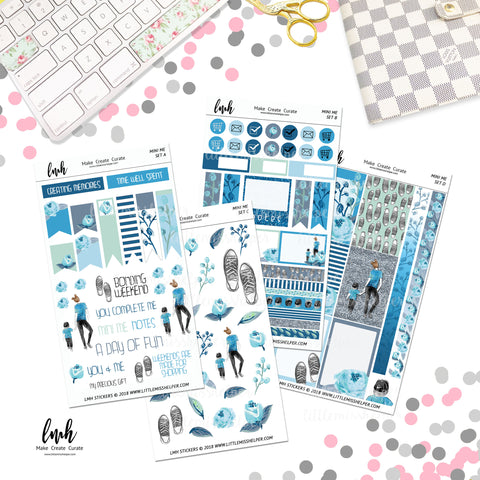 Mini Me Boy | Planner Sticker Set of 4