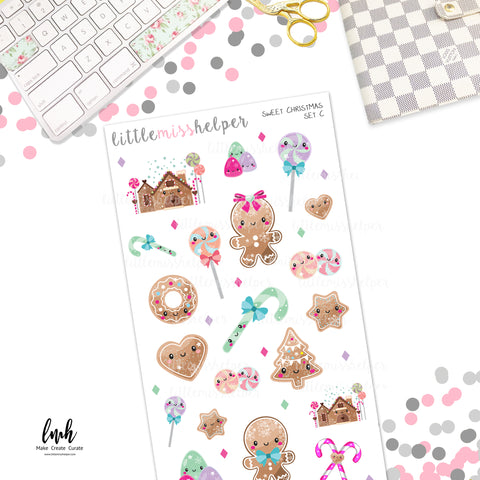 Sweet Christmas | Planner Sticker Set of 4