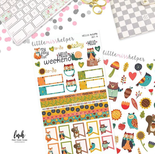 Charm and Sticker Kit 14 | Hello Autumn