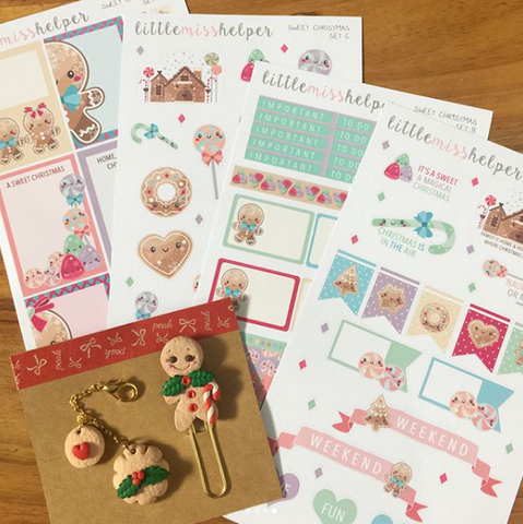 Charm and Sticker Kit 15 | Sweet Christmas