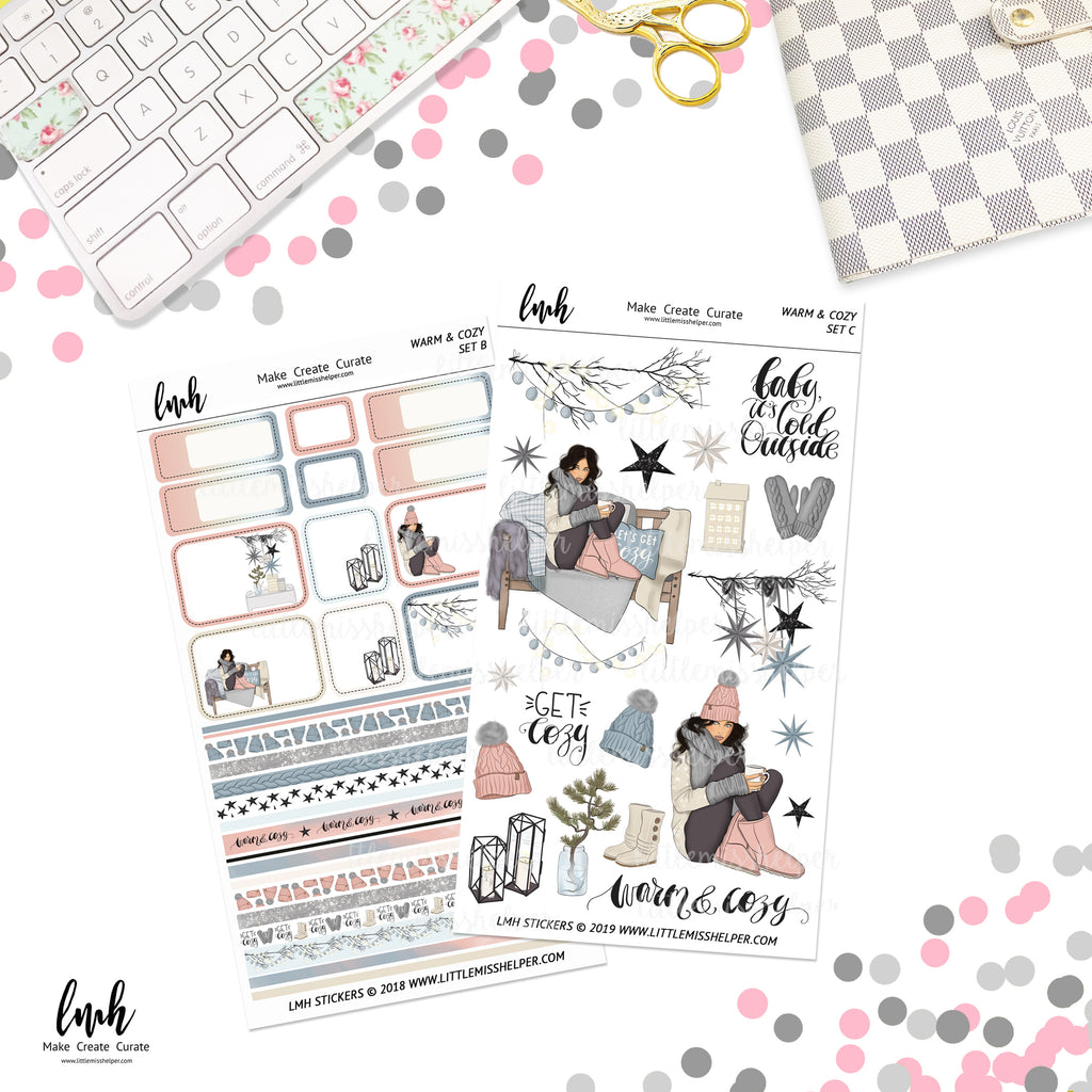 Warm & Cozy | Planner Sticker Set of 2