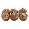 The Bake Shop Muffins Blueberry - 6 ct