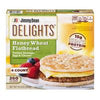 Jimmy Dean Delights Honey Wheat Flatbread Turkey Sausage, Egg & Cheese 4ct