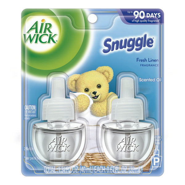 Air Wick Scented Oil Air Freshener Snuggle Fresh Linen Refill