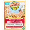 Earth's Best Cereal Rice Whole Grain Organic