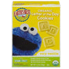 Earth's Best Sesame Street Letter of the Day Cookies Very Vanilla Organic